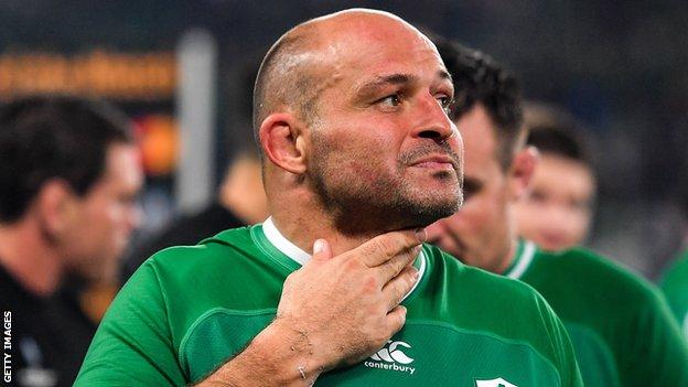 Best made his final appearance for Ireland in the World Cup defeat by New Zealand