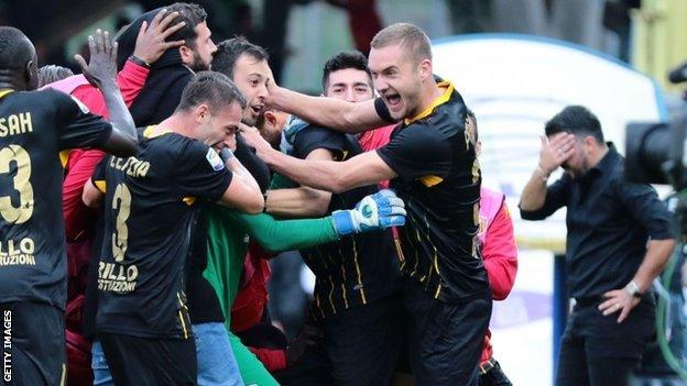 Benevento celebrate