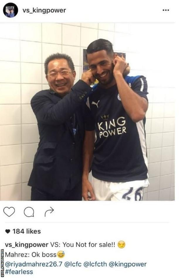 Mahrez not allowed to leave Leicester