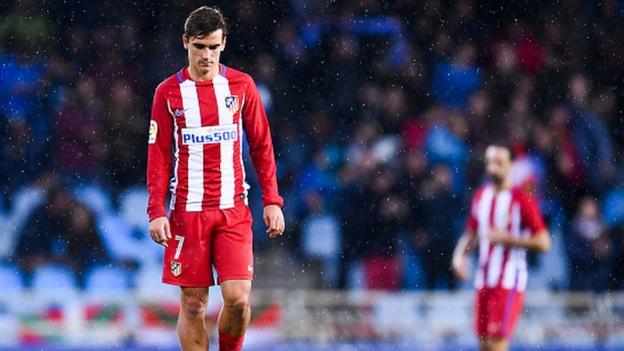 79f97489d Real Sociedad 2-0 Atlético Madrid - BBC Sport