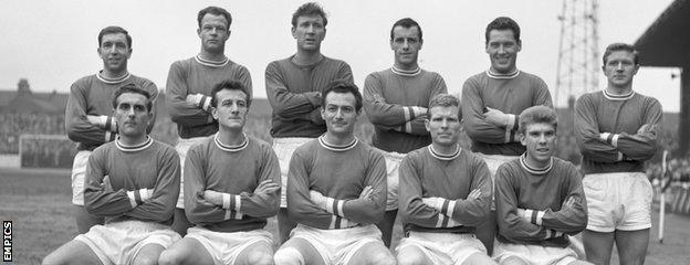 Leyton Orient's squad in 1961-62