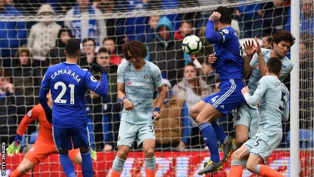 Three of Victor Camarasa's five Premier League goals have come against Manchester United, Arsenal and Chelsea