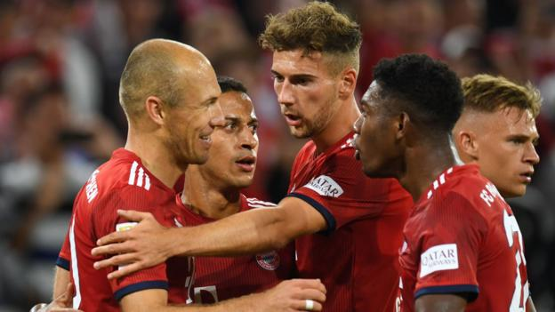 Bayern 3-1 Hoffenheim: Bundesliga starts with dramatic win for