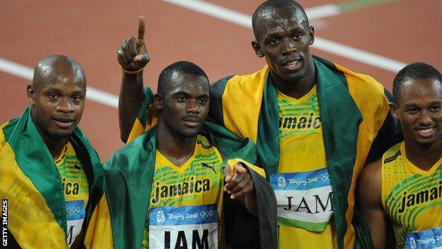 Usain Bolt & Nesta Carter