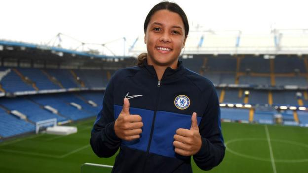 Sam Kerr: Can Chelsea's new signing take club to the next level? thumbnail