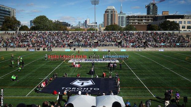 Toronto Wolfpack's Lamport Stadium