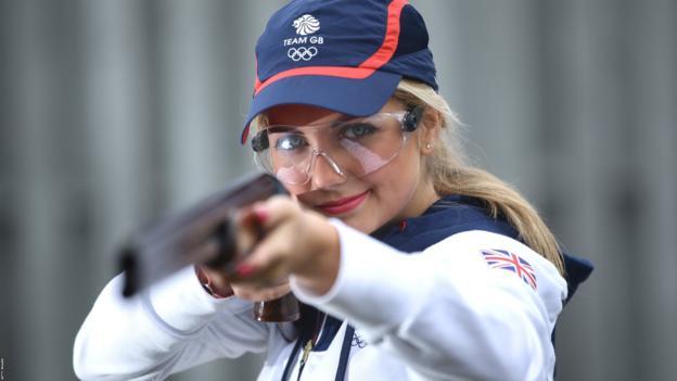 British shooter Amber Hill