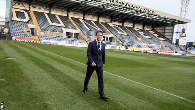 Dundee interim boss Neil McCann
