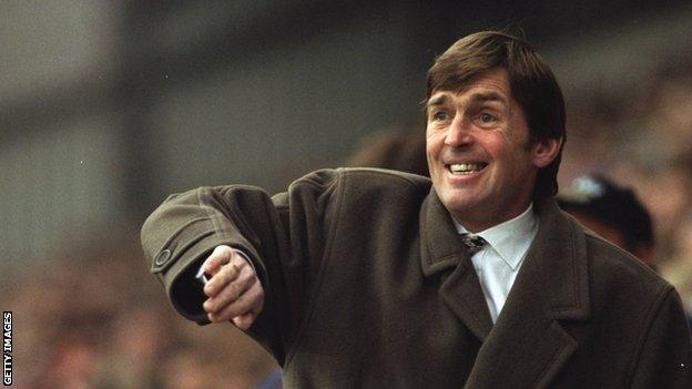 Sir Kenny Dalglish guided Blackburn to the title in 1994-95, with Alan Shearer scoring 34 goals for them in that season