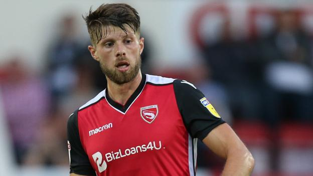 Jason Oswell Morecambe Striker Joins National League