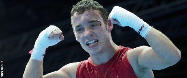 Scotland's Reece McFadden was a bronze medallist at Glasgow 2014