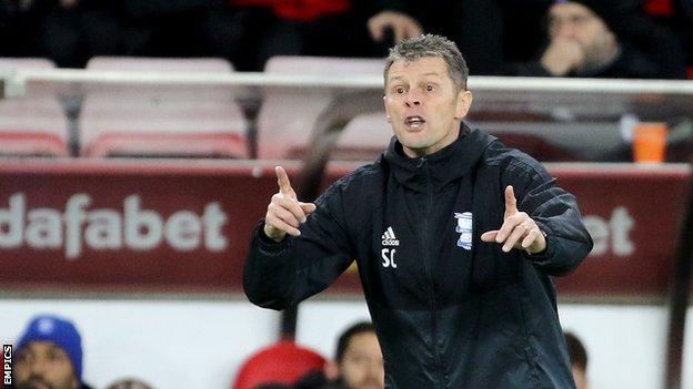Steve Cotterill has overseen just two wins from his 12 games in charge of Championship strugglers Birmingham City