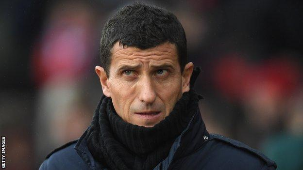 New Watford coach Javi Gracia saw his players struggle in the final third against Southampton