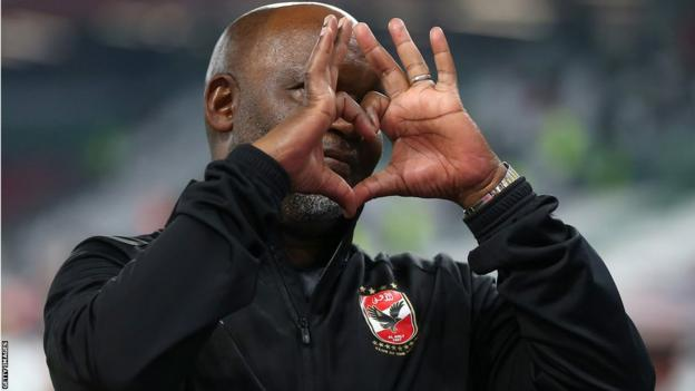 Al Ahly's South African coach Pitso Mosimane