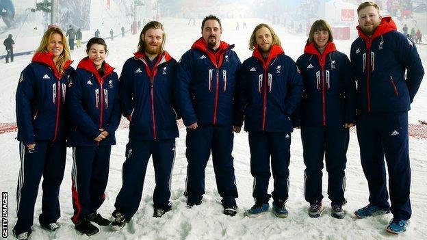GB Paralympic Squad 2018