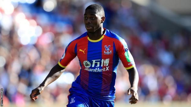 Sullay Kaikai during his time at Crystal Palace