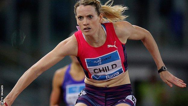 Child wants to improve on her Scottish 400m hurdles record in 2016