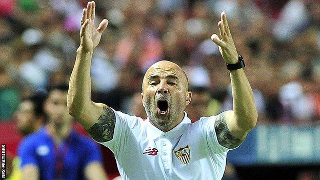 Sevilla boss Jorge Sampaoli