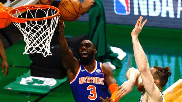 The New York Knicks have benefited from an upgrade to their home at Madison Square Garden
