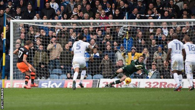 Robert Green saves a penalty