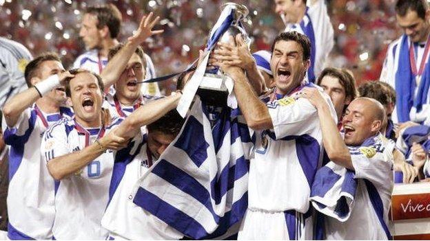 Greece win Euro 2004