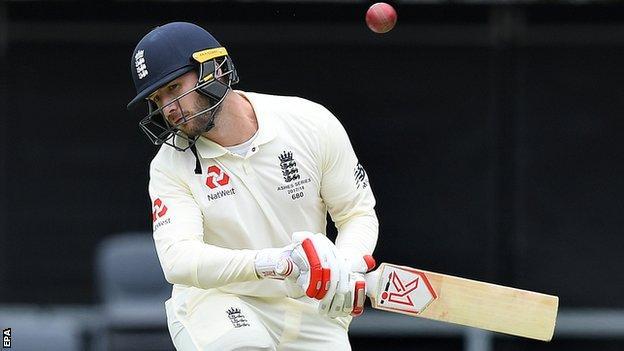 England's Mark Stoneman avoids a bouncer