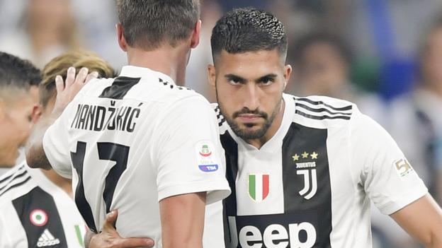 Juventus Champions League squad: Emre Can & Mario Mandzukic left out thumbnail