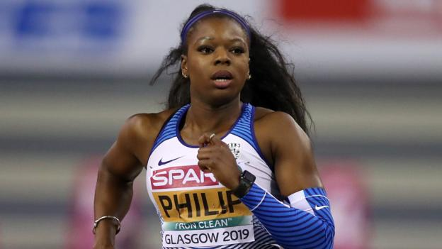 European Indoor Championships: Asha Philip and Chris O'Hare win medals in Glasgow thumbnail