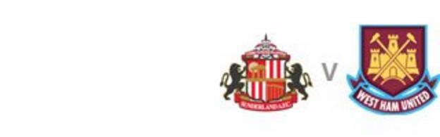 Sunderland v West Ham