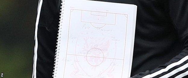 Wales team sheet