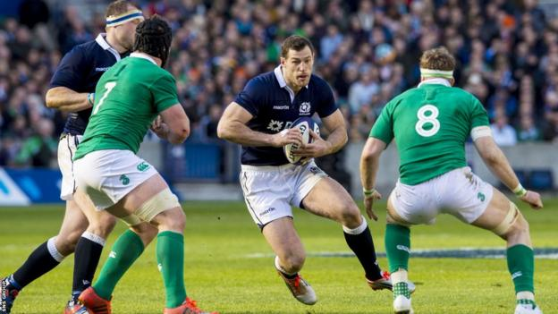 Scotland lost all of their matches in the Six Nations