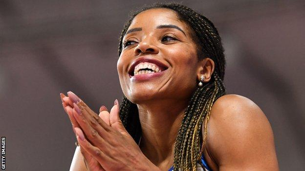 McMullen's girlfriend Abigail Irozuru has achieved the Olympic Games long jump standard