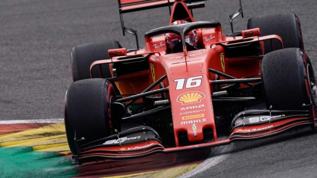Charles Leclerc dedicates first F1 win to Anthoine Hubert thumbnail