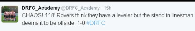 Doncaster Rovers Academy on Twitter