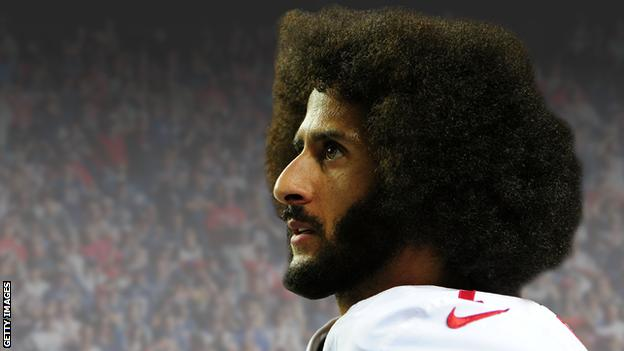 Colin Kaepernick filter by Graphics team