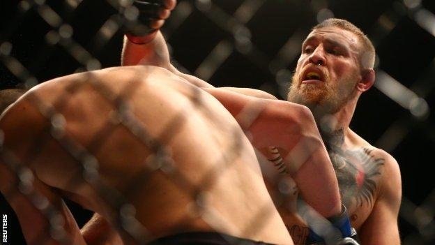 Conor McGregor (right)