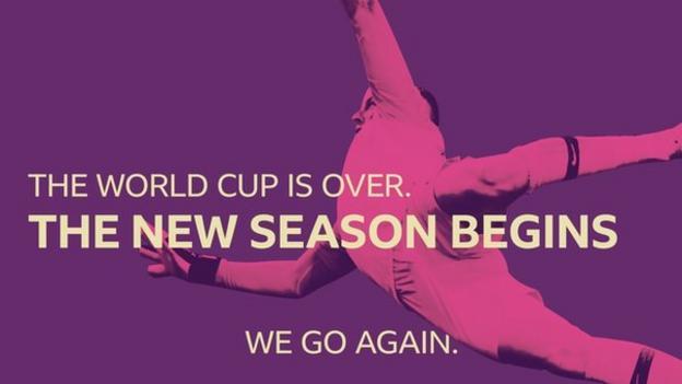 The new season begins