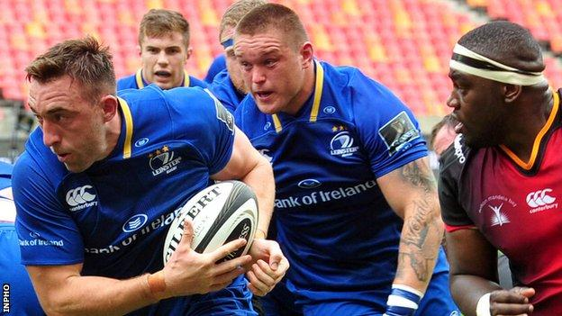 Jack Conan scored Leinster's third try