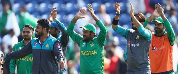 Pakistan won the World T20 in England in 2009