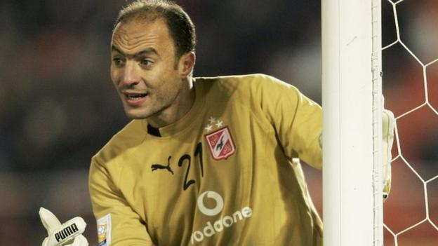 Former Egypt captain Nader El Sayed