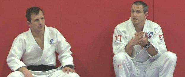 David Somerville and Euan Burton