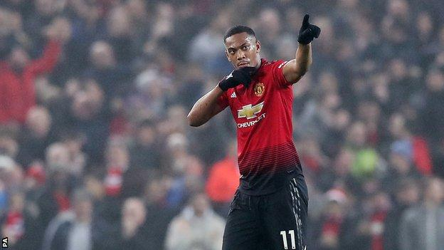 Anthony Martial: Man Utd extend deal for France forward