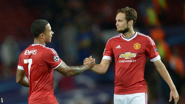 Depay and Blind