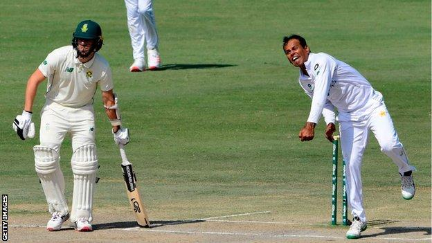Pakistan spinner Nauman Ali