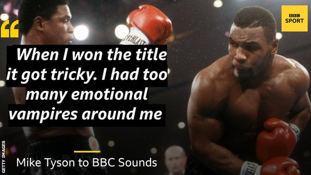'I had too many emotional vampires' - Tyson says title came too young thumbnail