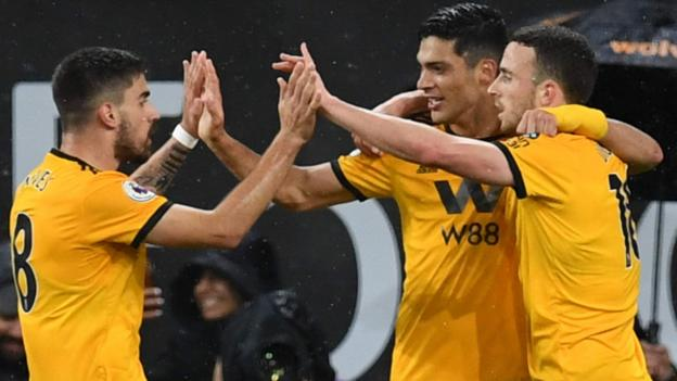 Wolves 2-1 Manchester United: Hosts fight back from a goal down to win thumbnail