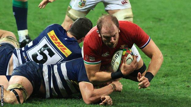 British and Irish Lions 2021: Alun Wyn Jones fit for first Test, says Steve Tandy thumbnail