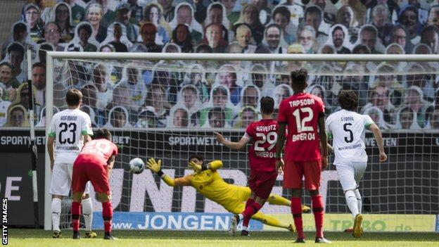 Kai Havertz scores from the penalty spot