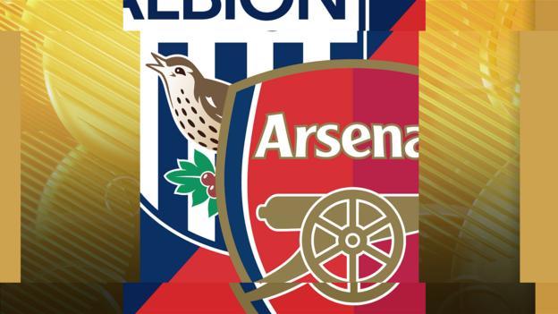 West Brom v Arsenal