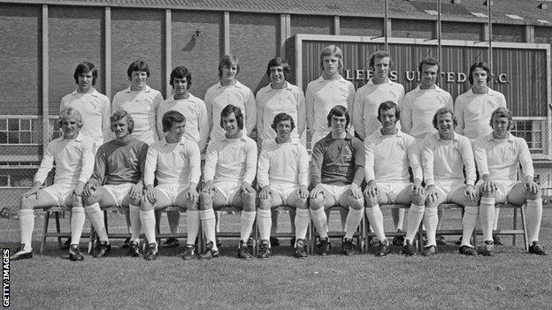 Leeds United team 1973-74